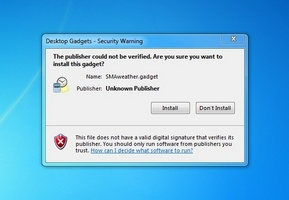 How to install Windows 7 gadgets