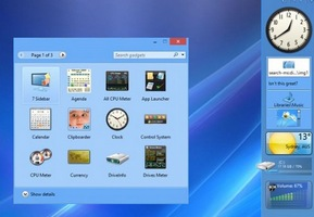 How to Install Gadgets in Windows 8