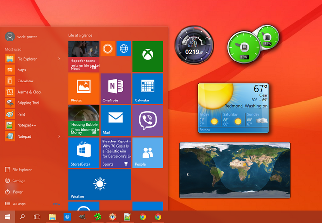 How To Install Desktop Gadgets In Windows 10 - Win7Gadgets Blog