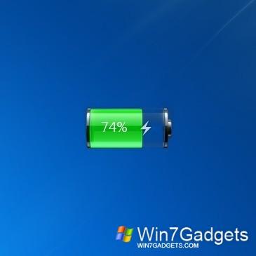 Ibattery 2.0 - Windows 7 Desktop Gadget