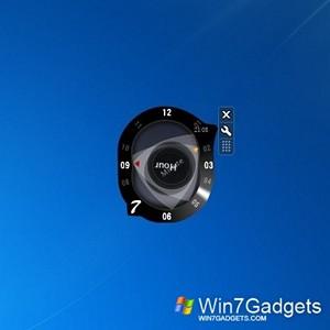 Rotary clock windows 7 desktop gadget