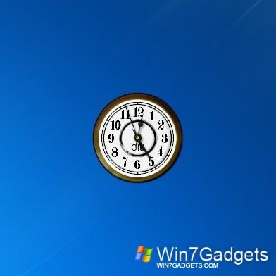 Old Clock - Windows 7 Desktop Gadget