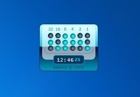 2Binary Clock