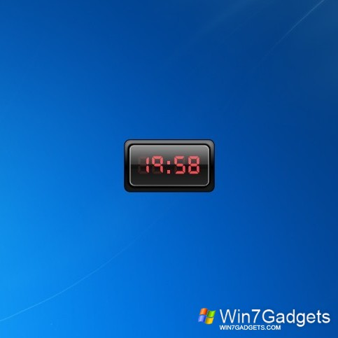 Clock Gadget that came with Windows 7 is lost.... need to reinstall