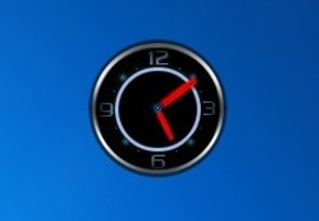 how to change the clock to analog on win 10