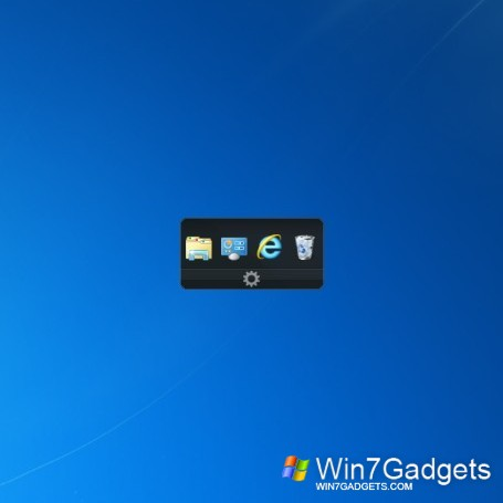 how to add program to quick launch windows 7