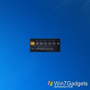 Windows Live Calendar - Windows 7 Desktop ...