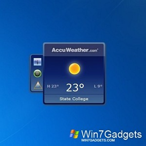 AccuWeather Forecast gadget