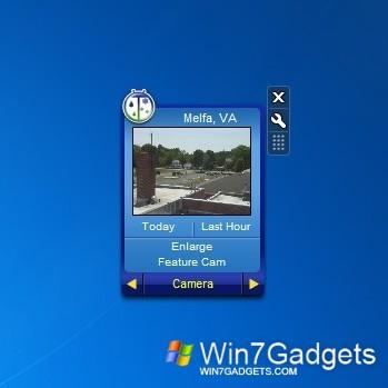 Weather Bug - Windows 7 Desktop Gadget