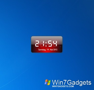 Download Digital Clock-7 for Windows 7 free - Windows 7 Download