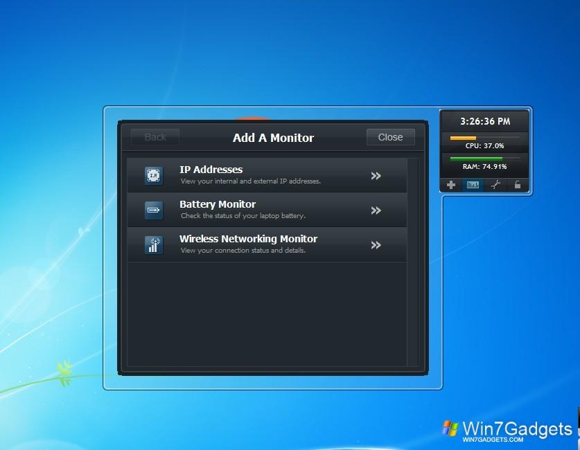 Installing Desktop Gadgets for Windows 10 - Win10Gadgets