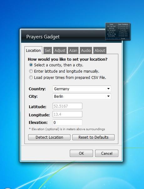 islamic calendar 2013 gadget for windows 7