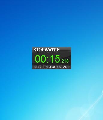 stopwatch timer   windows 7 desktop gadget