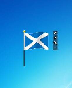Hammer's Scotland Flag