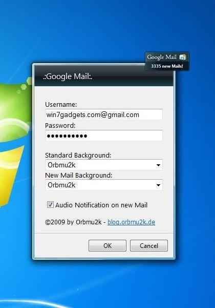 Windows 7 Desktop Gadget