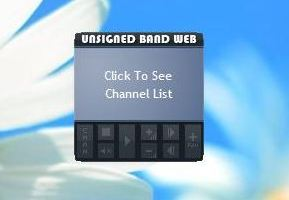 Unsigned Band Web Radio Gadget