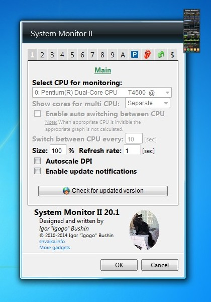 how to darken monitor win 7
