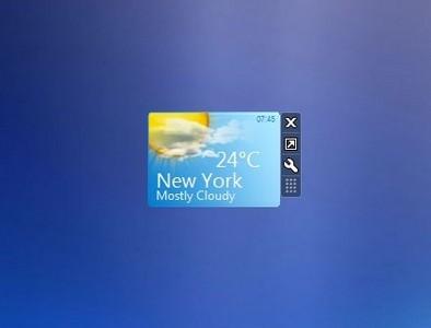 weather center windows 7 desktop gadget. Black Bedroom Furniture Sets. Home Design Ideas