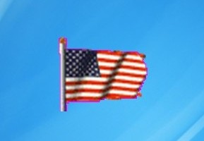 Animated USA Flag