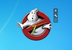 Ghostbuster Clock
