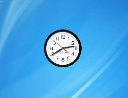 Live Clock - Windows 7 Desktop Gadget