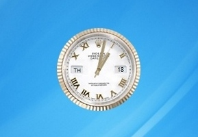 Rolex Oyster Perpetual Datejust Clock