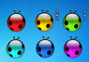 LadyBugs Clock