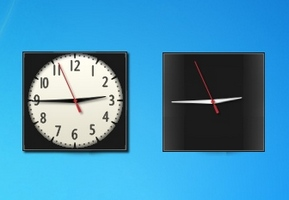 OnlyBLack 2 Clocks