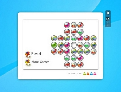 Marbles Game gadget