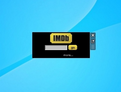 IMDB Search gadget