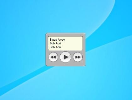 Itunes Gadget - Windows 7 Desktop Gadget