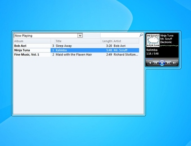 Media Player win 7 gadget