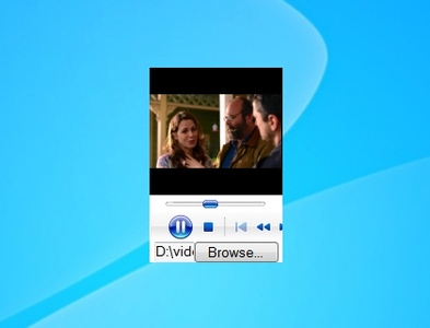 how to turn the video in windows media player