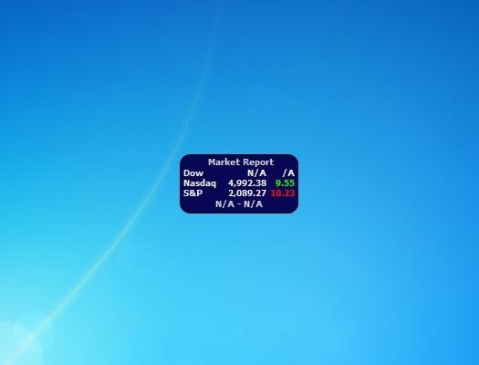 Stock Windows 7 Gadgets