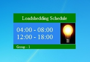 Nepal Loadshedding Schedule