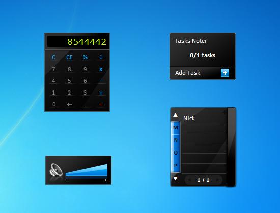 Desktop calculator windows 7 desktop gadget.