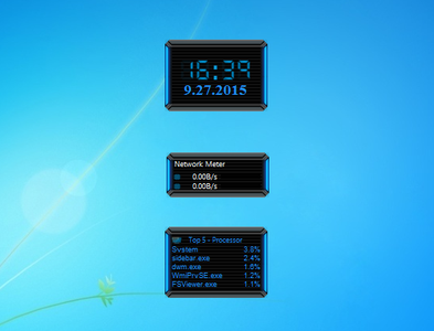 HUD Evolution Windows 7 Gadget