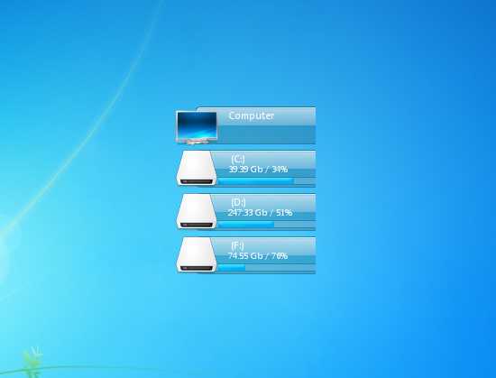 how to add my computer to desktop in windows 7
