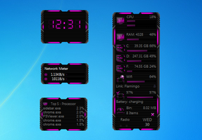 HUD Machine Pink Gadgets