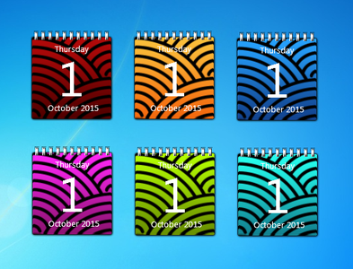 Color Calendar gadgets