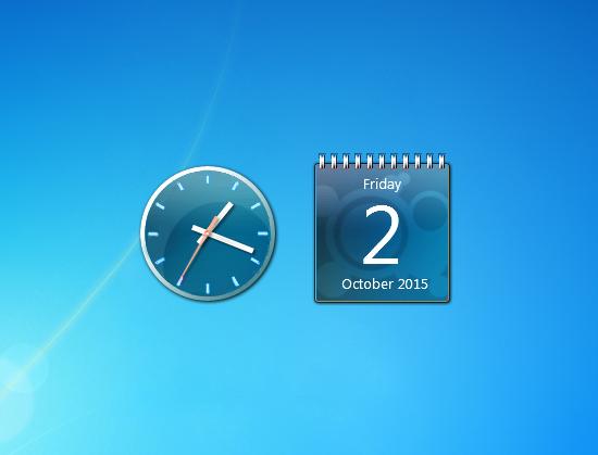 Calendar Gadgets - Windows 7/8/10 Gadgets