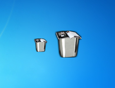 Recycle Bin Metalico Gadget