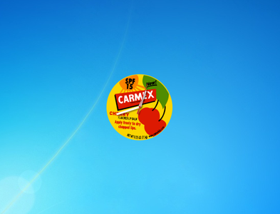 Carmex Clock Gadget for Windows 7