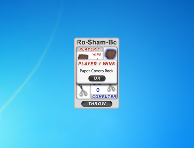Ro Sham Bo Gadget for Windows 7