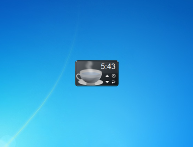 Teatime Gadget for Windows 7